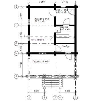 Проекти бань з терасою і барбекю (28 фото): зона відпочинку 3 в 1