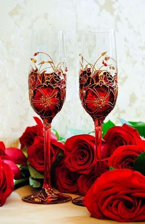 Келих шампанського: майстер-клас із святкового декору та 80 обраних фотоидей