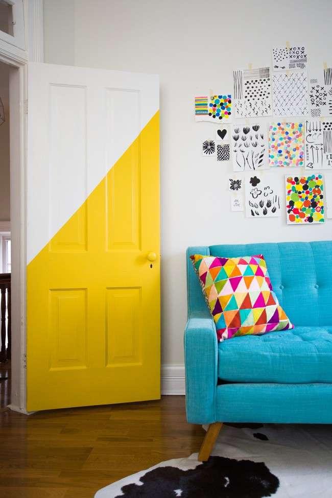 55 ідей декору дверей своїми руками: фото, поради, майстер-класи