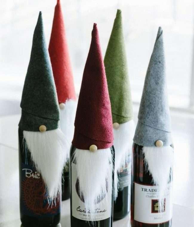 Прикрашаємо пляшку шампанського на Новий рік: ефектний аксесуар і ідеальний подарунок своїми руками