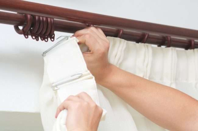 Деревяні карнизи для штор: типи, особливості установки і 70+ оригінальних ідей для дому