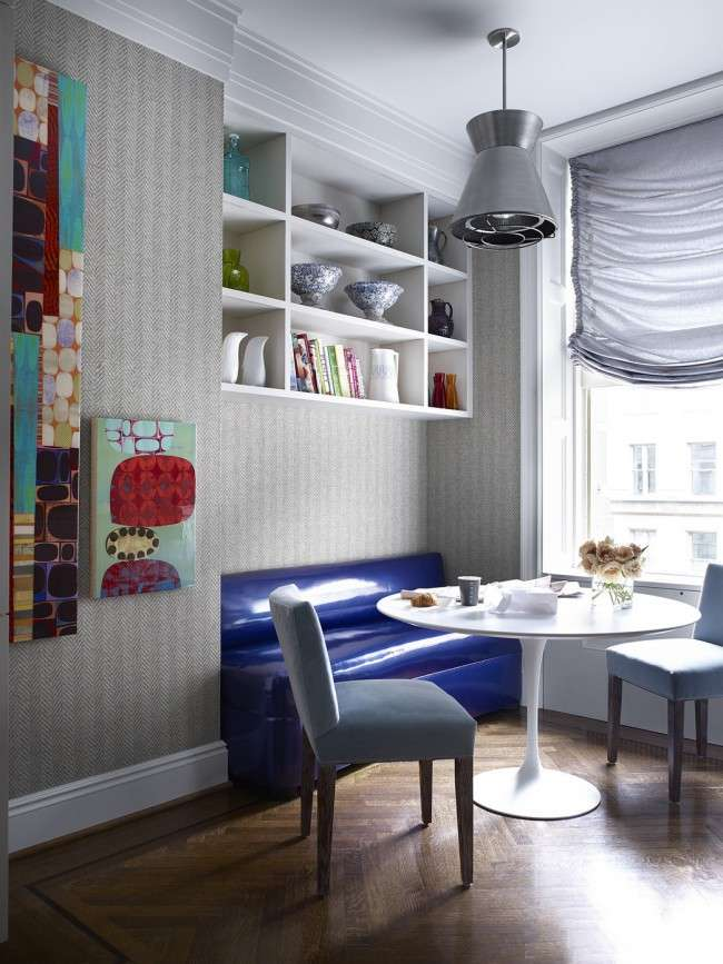 Диванчик на кухню: 75 симпатичних ідей затишного куточка для сімейного відпочинку