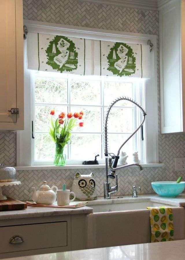 Штори для кухні — 2018: стильні новинки (75 фото)