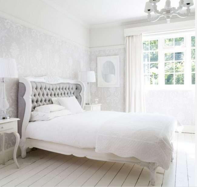 Французьке ліжко: трендові моделі і 80 витончених інтерєрних ідей для спальні