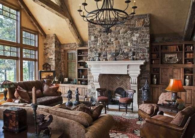 Інтерєр сільського будинку: стилістичні тонкощі оформлення та 85+ затишних і комфортних варіантів