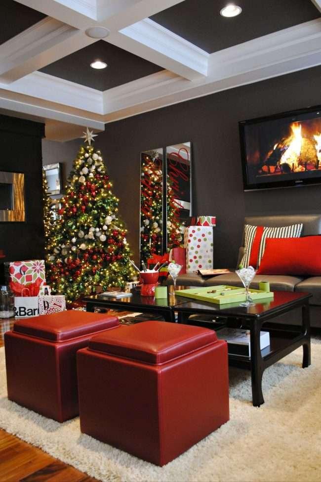 Як прикрасити кабінет до Нового року 2018: створюємо стильне святкове робоче місце