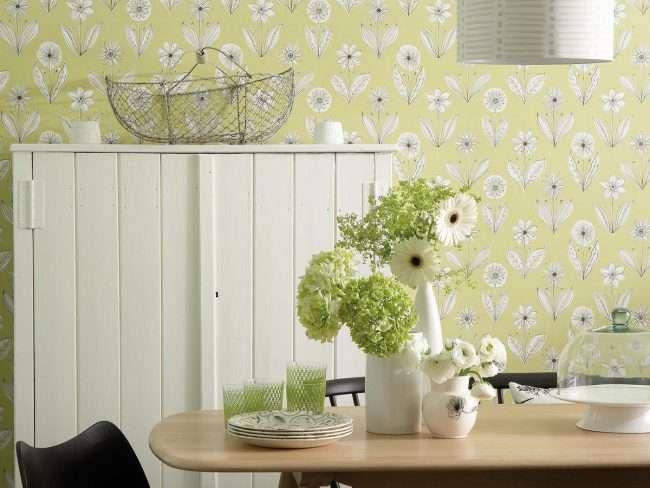 Вінілові шпалери на флізеліновій основі: огляд стильних варіантів для поклейки і 65 яскравих дизайнерських ідей
