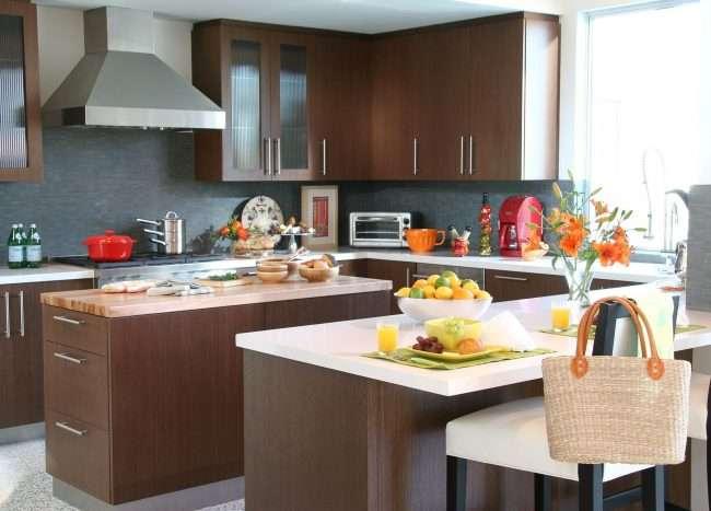 Коричнева кухня: оформлення інтерєру в шоколадних відтінках і 85 теплих і затишних втілень