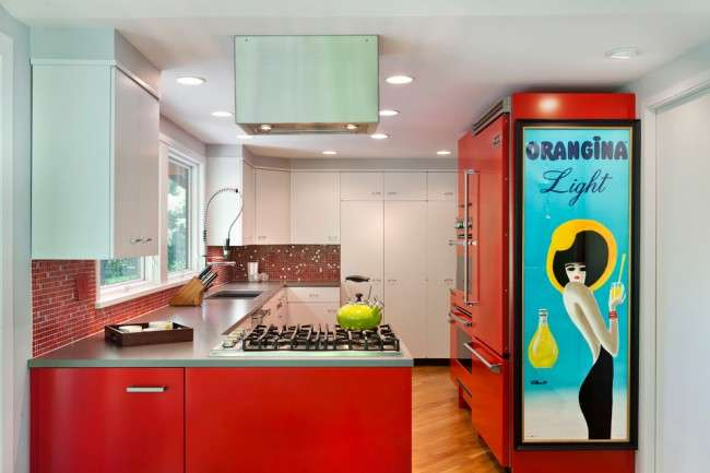 Кухні червоного кольору: 50 самих трендових і соковитих рішень для тих, хто не боїться експериментувати