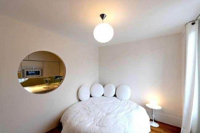 Кругла ліжко в спальні: незвично і дуже практично (фото)