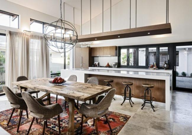 Інтерєр кухні площею 16 кв. метрів: як організувати простір максимально функціонально?