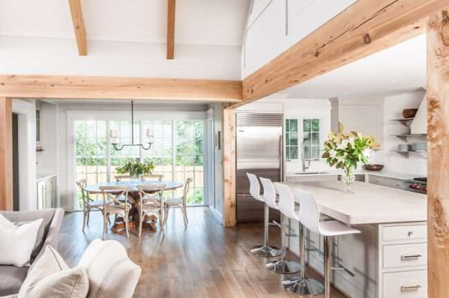 Кухня-столова в приватному будинку: секрети зонування та практичні поради з декору