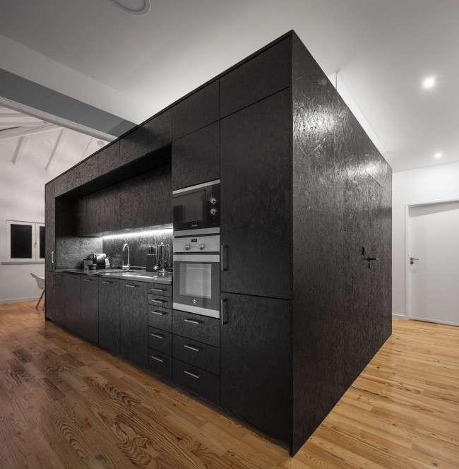 Кухня в стилі лофт: індустріальна романтика в домашньому інтерєрі, фото 75
