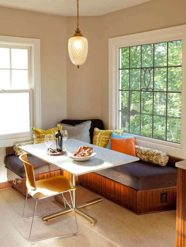 Кухонний куточок з ящиками для зберігання: 70+ надійних і практичних моделей, які комфортизируют інтерєр кухні