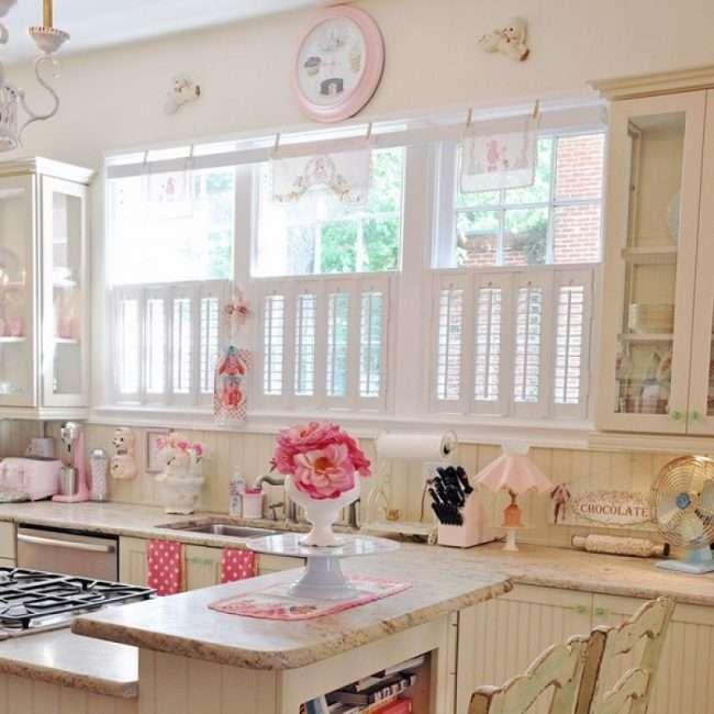 Кухня в стилі шеббі-шик: вінтажна розкіш для цінителів комфорту і 80 затишних інтерєрів