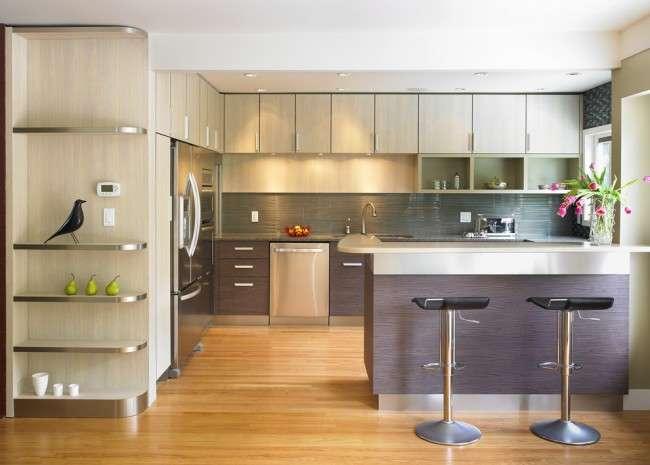 Кухня в стилі модерн: дизайн, підбір декору і 45 самих актуальних ідей для дому