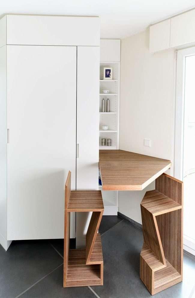 Розкладні столи для маленької кухні: як оптимізувати кухонне простір і огляд найбільш зручних сучасних моделей