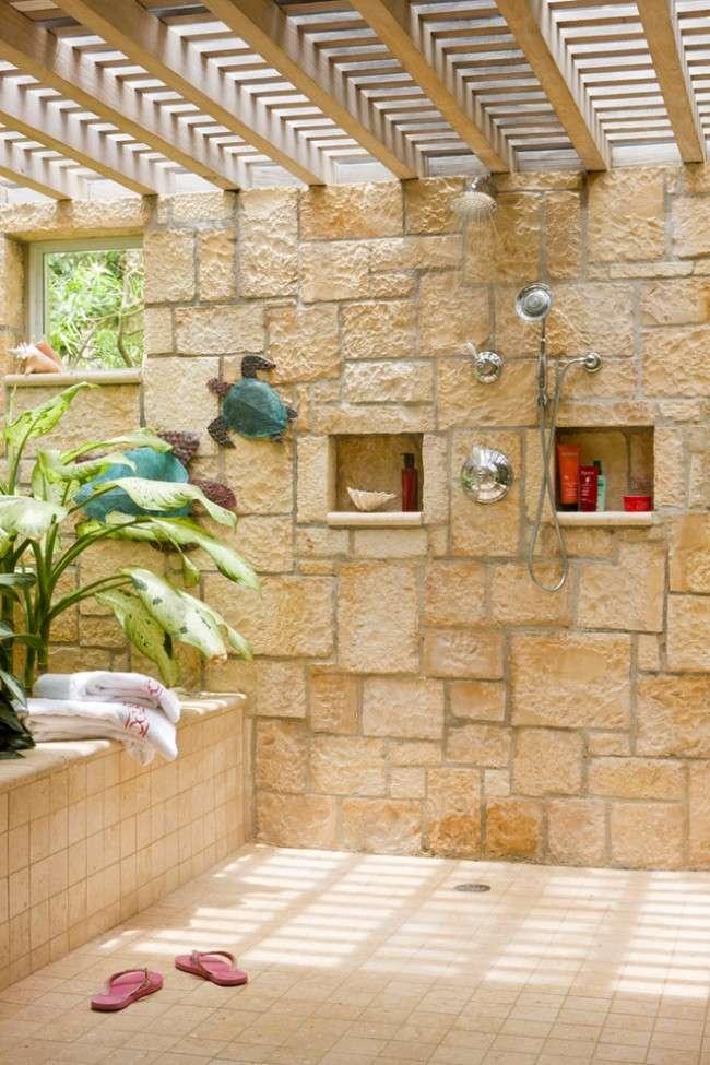 Літній душ для дачі: 65 ідей освіжаючого оази серед палючої спеки (фото)