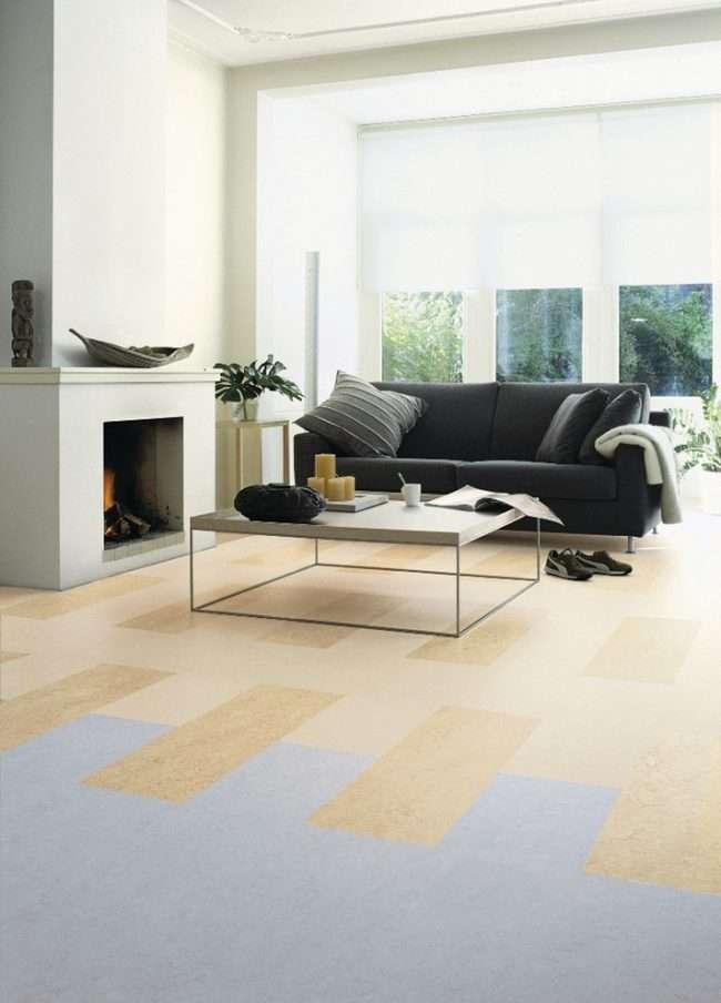 Вибираємо лінолеум під плитку: особливості дизайнерської імітації і 80+ максимально комфортних варіантів