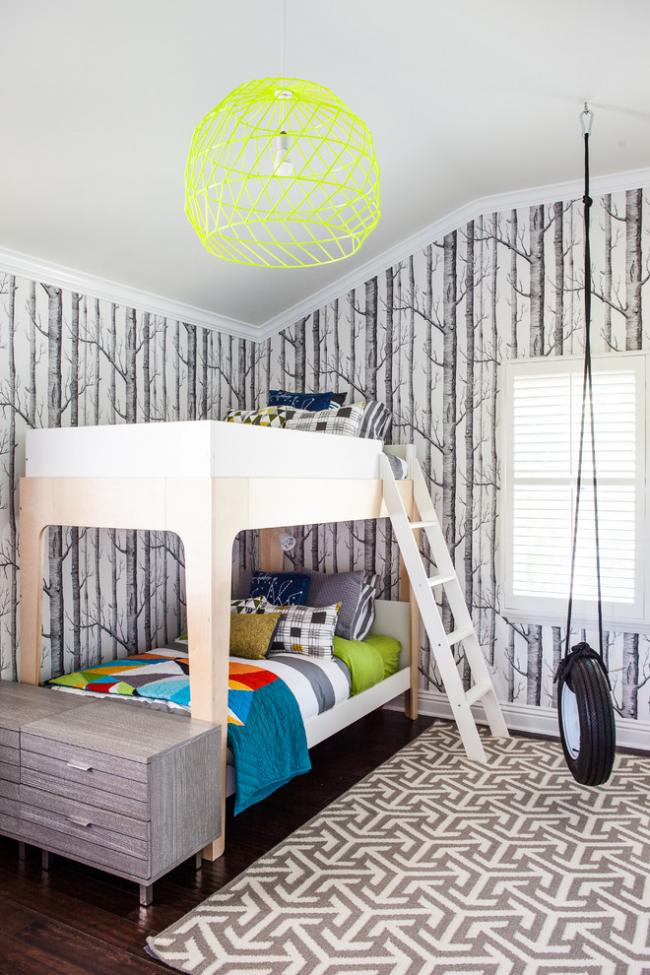Люстра в дитячу кімнату: 90+ дизайнерських варіантів освітлення для малюка