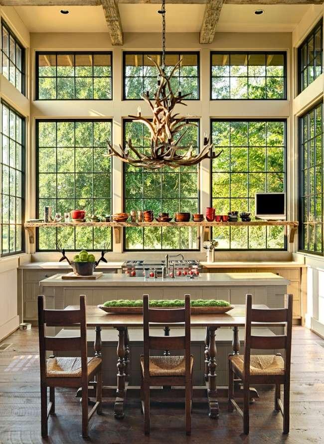 Люстра для кухні: 115 свіжих ідей, як зробити інтерєр яскравіше (фото)