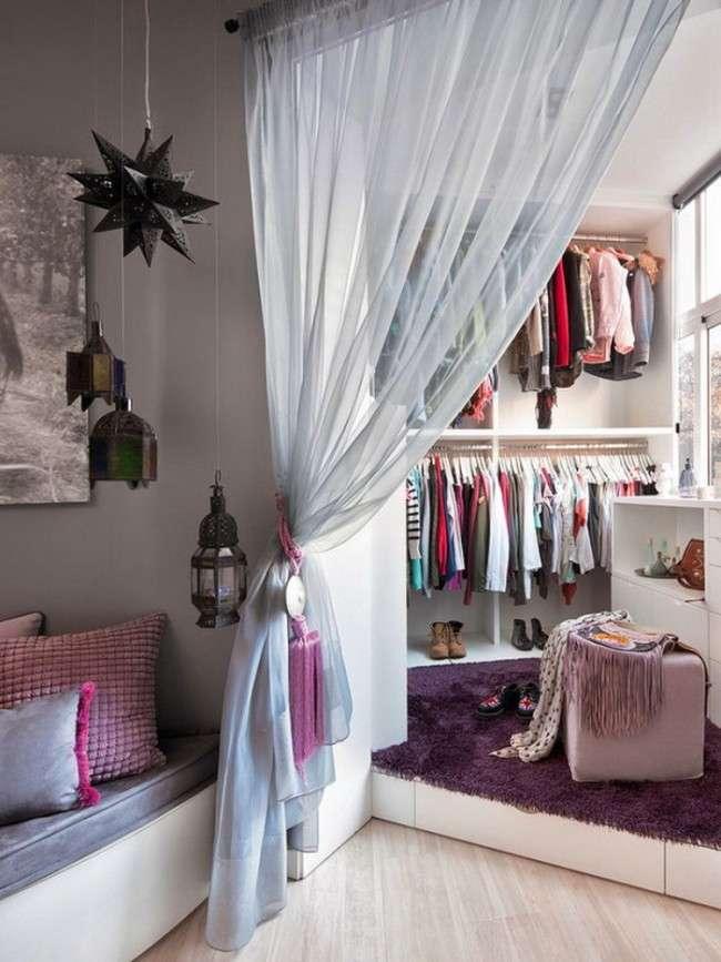 50 Ідей маленьких гардеробних кімнат: максимум зручності і мінімум простору (фото)