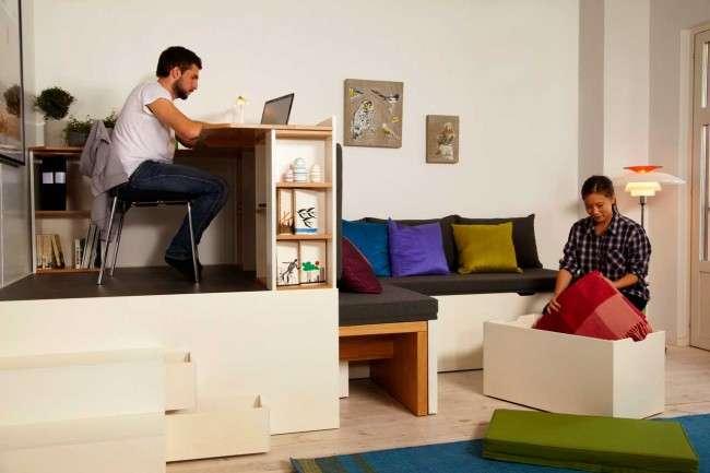 Меблі-трансформер для малогабаритної квартири (60 фото): функціональність при мінімумі простору