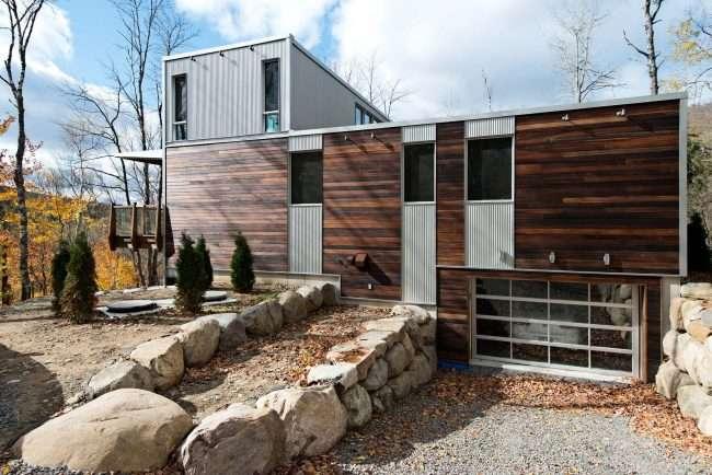 Модульні будинки для цілорічного проживання: технології будівництва і 70 найкращих проектів