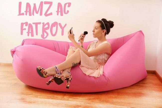 Надувний диван Lamzac: переваги, приклади використання і тонкощі догляду