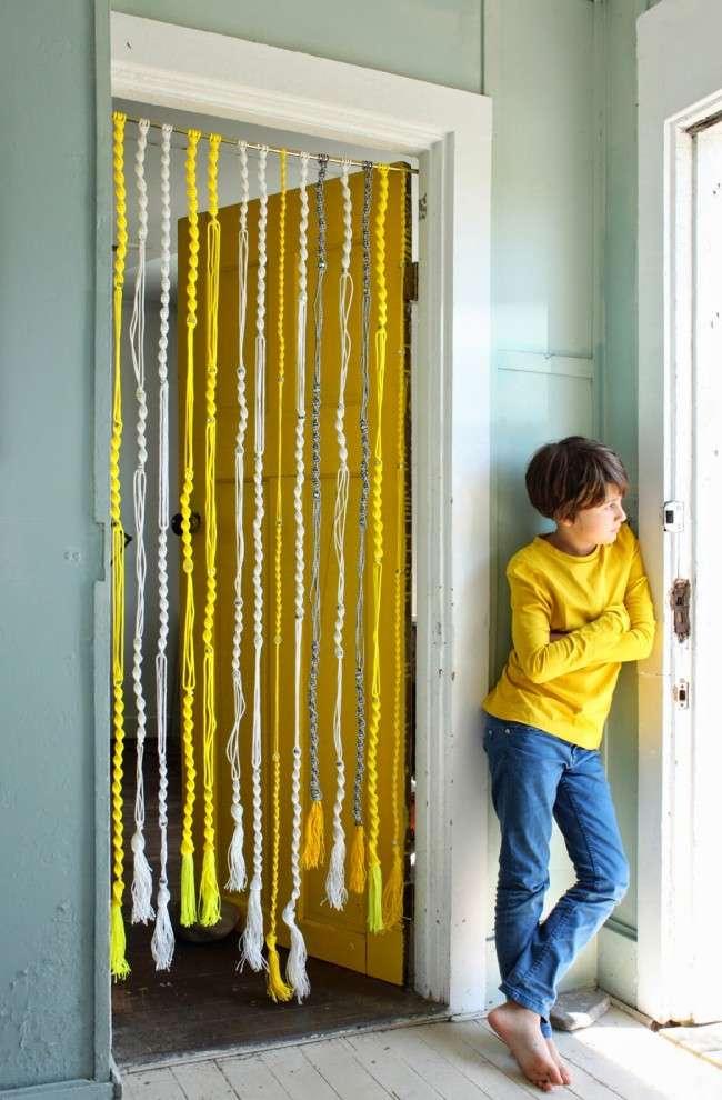 Нитяні штори: 55 альтернативних ідей з серпанком замість традиційних завіс (фото)