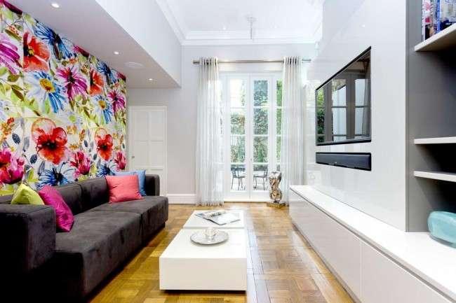Шпалери до вітальні: як не помилитися з вибором і 45+ кращих дизайнерських варіантів