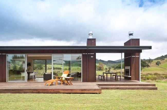 Проекти одноповерхових будинків з терасою: 80 найбільш комфортних реалізацій і актуальні тренди