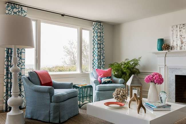 Оформлення шторами вікон: основні правила декору і 40 найбільш виграшних поєднань