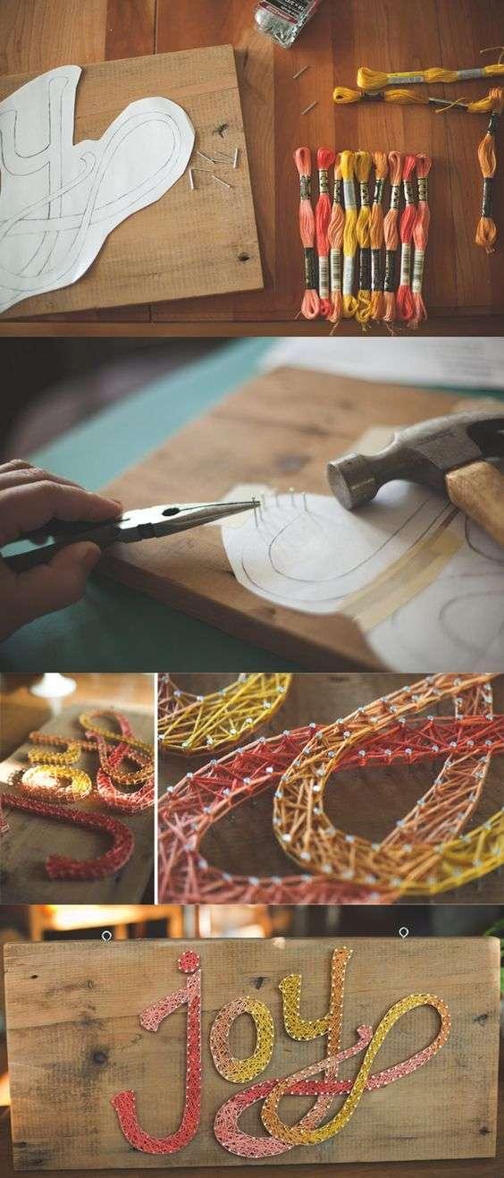 Панно із цвяхів і ниток: 70+ ідей, які надихнуть на створення шедеврів