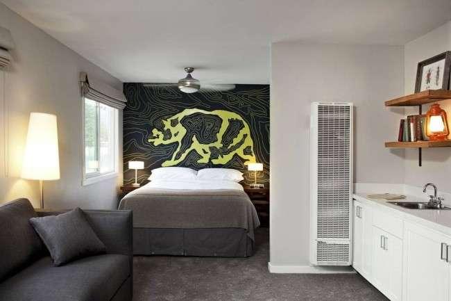 Фотошпалери для спальні: Арт креативних інтерєрах, Фото 75