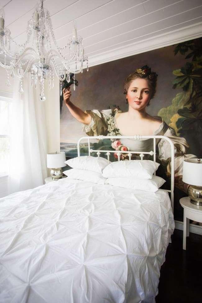 Фотошпалери в спальні: 115 ідей дизайну з неймовірними картинами на всю стіну