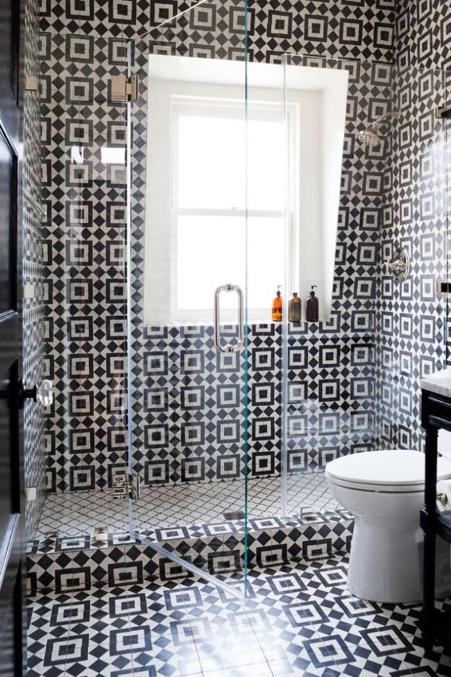 55 Яскравих ідей плитки в ванну: поєднання краси і практичності (фото)