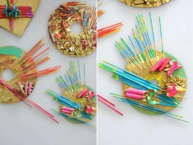 Вироби з макаронів: покроковий майстер-клас з декору своїми руками