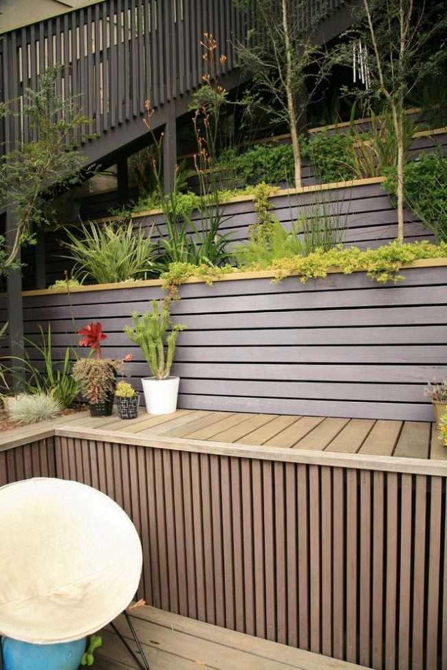 Як використовувати підпірні стінки в ландшафтному дизайні: 75+ функціональних і естетичних ідей