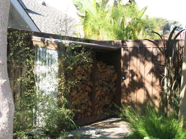 Стос дров: види конструкцій і 70 практичних варіантів для приватного будинку