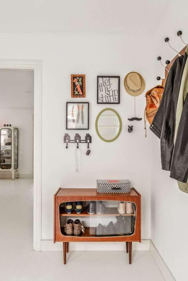 Полки для взуття в передпокій: 70 приголомшливих ідей для коридору своїми руками
