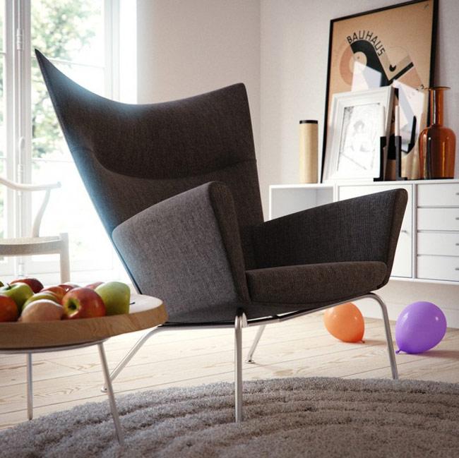 Півкрісло з підлокітниками: поради щодо вибору та огляд стильних дизайнерських моделей