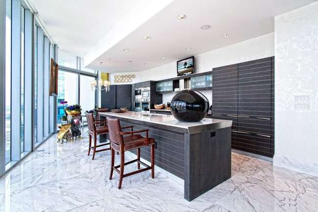 Стелі з гіпсокартону на кухні: важливий аспект в геометрії простору (фото)