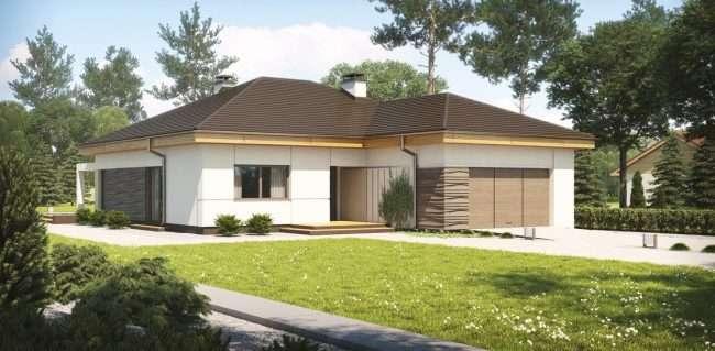 Проекти будинків з піноблоків з гаражем: специфіка конструкцій та 60+ готових варіантів комфортабельних