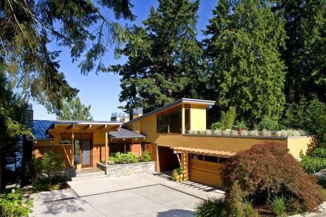 Проекти будинків з гаражем під одним дахом: 70+ готових надійних рішень для заміського життя