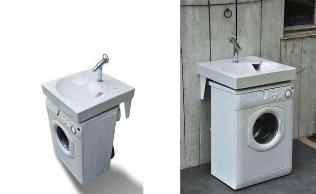 Раковина над пральною машиною: особливості установки і 70 продуманих рішень для функціональної ванної кімнати