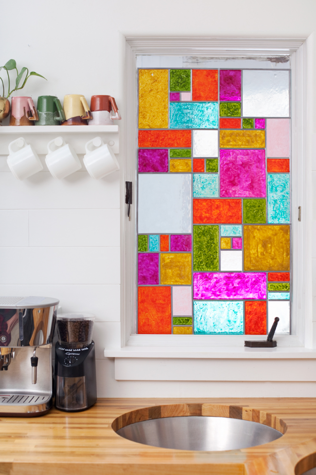 Розпис по склу вітражними фарбами: майстер-клас по техніці і 75 гідних втілення ідей