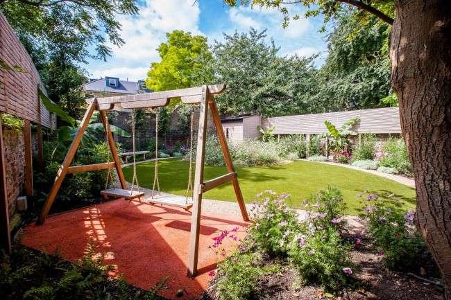 Гойдалки садові: 60 супер-фото для виготовлення своїми руками, креслення