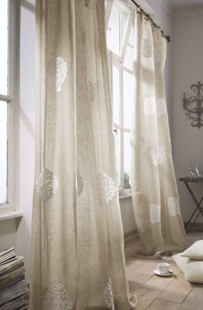 Лляні штори: природна елегантність і екологічність (фото)