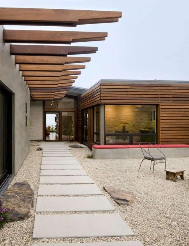 Обшиті сайдингом під колоду і цегла будинку: 75 практичних і доступних реалізацій обробки
